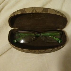 Used Coach Glasses Frames